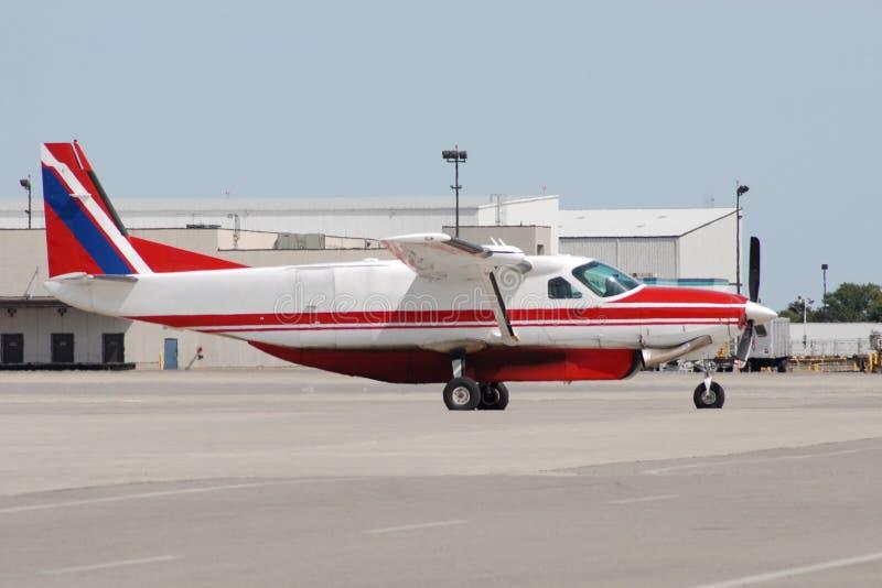 Śmigłowy samolot zdjęcia stock