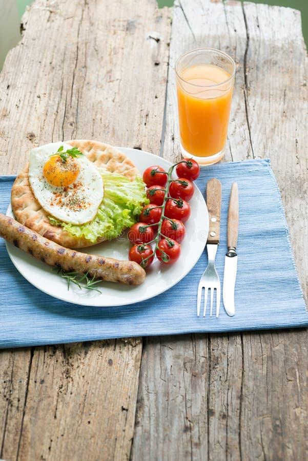 śniadanie fotografia stock