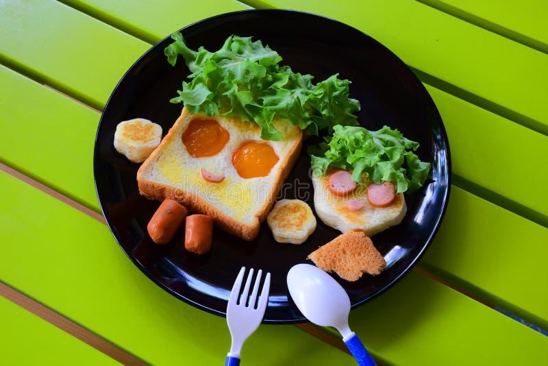 Śniadanie dla dzieciaków zdjęcia stock