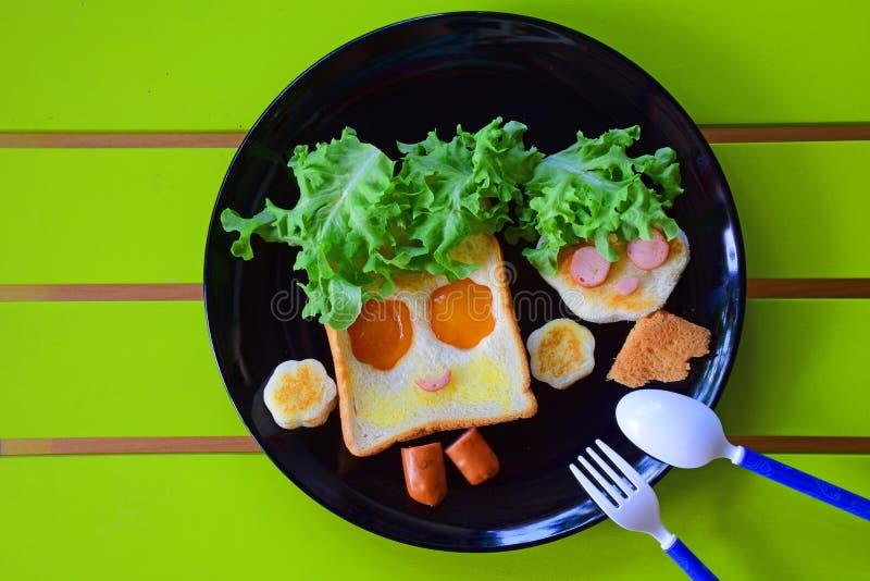Śniadanie dla dzieciaków zdjęcie stock