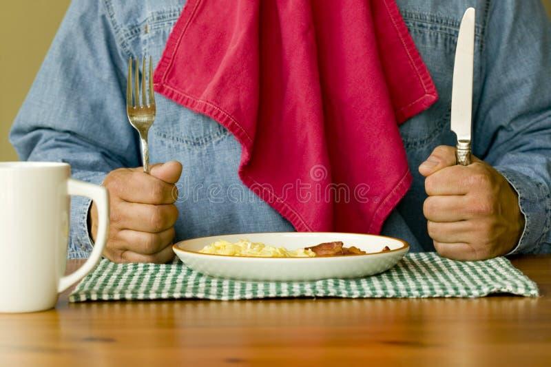 śniadanie gotowe zdjęcie stock