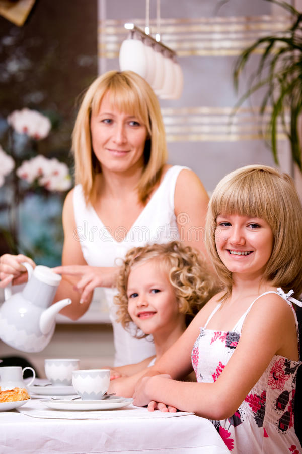 Śniadanie w domu fotografia royalty free