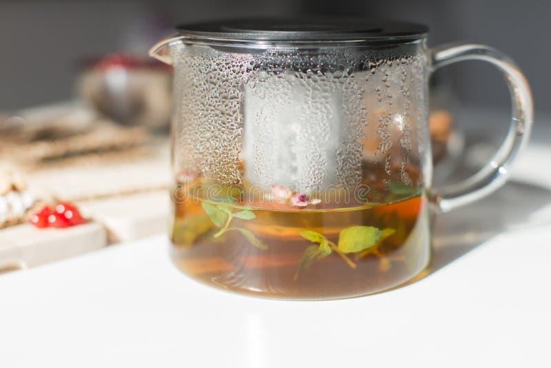 Śniadanie z herbatą zdjęcie royalty free