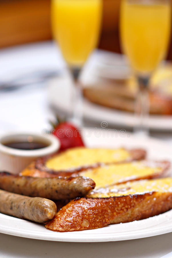 śniadanio-lunch Niedziela obrazy stock