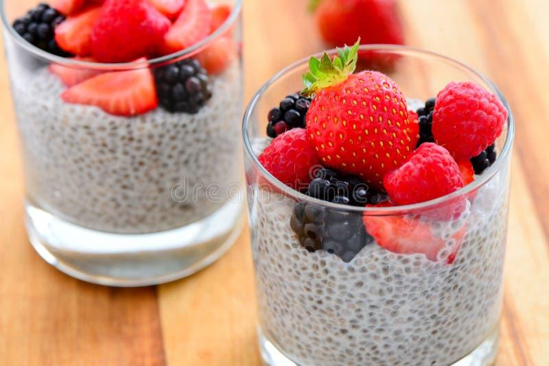 Śniadaniowy jagodowy smoothie zdjęcia royalty free