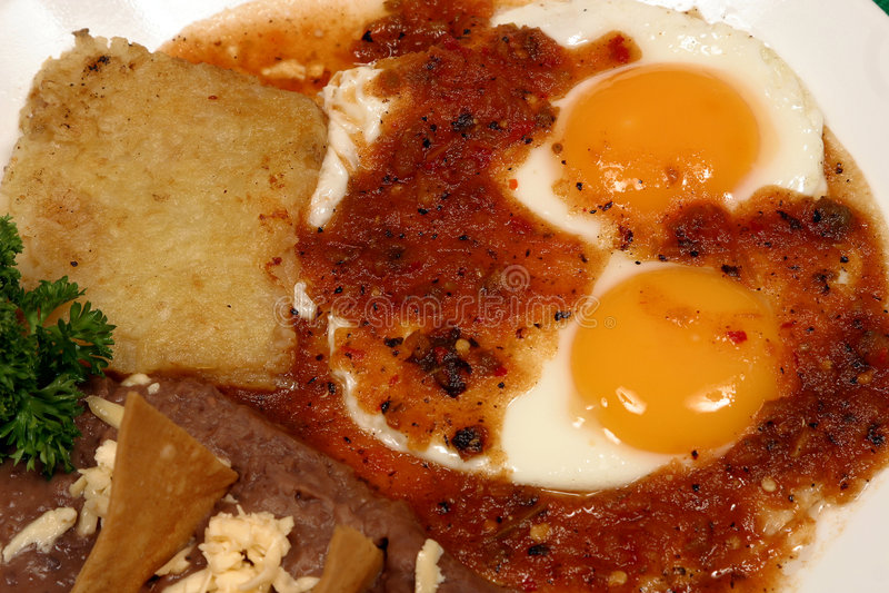 śniadaniowy meksykanin fotografia stock