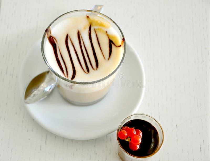 śniadaniowy tortowy kawowy włoski czas zdjęcie stock