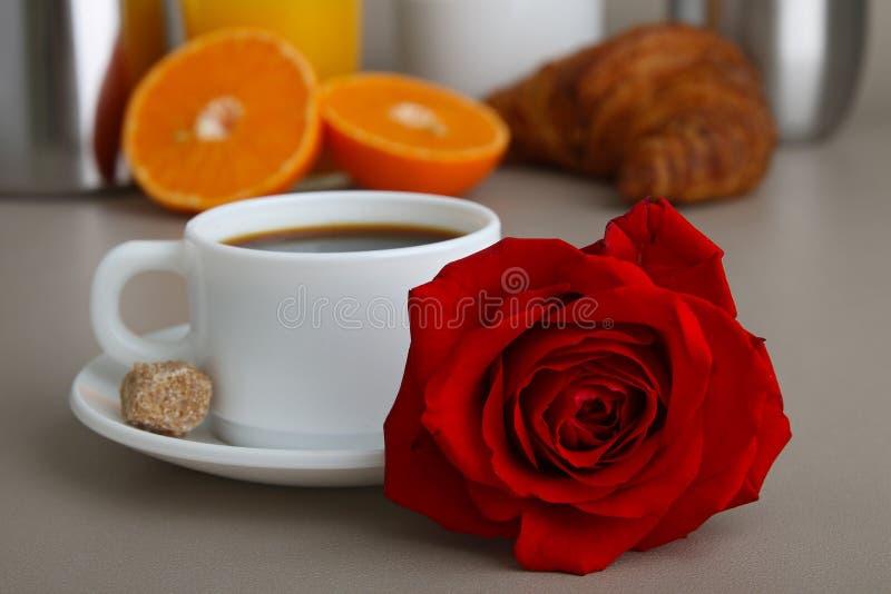 śniadaniowy valentine obrazy stock