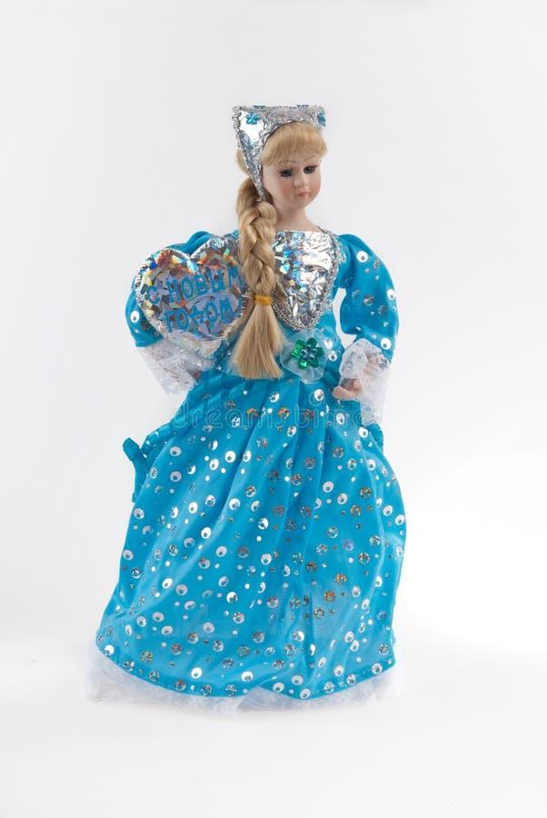 Śnieżna Dziewczyna fotografia royalty free