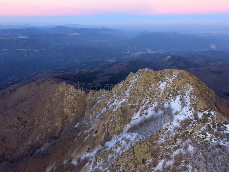 Śnieżna góra zdjęcie royalty free