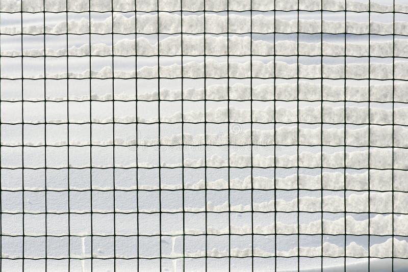 Śnieżna siatka obraz stock