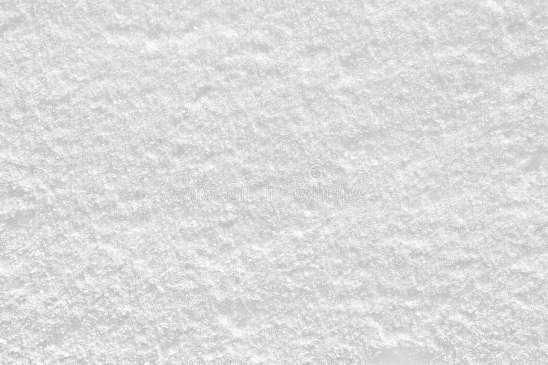 Śnieżna tekstura w pogodnym zima dniu zdjęcie royalty free