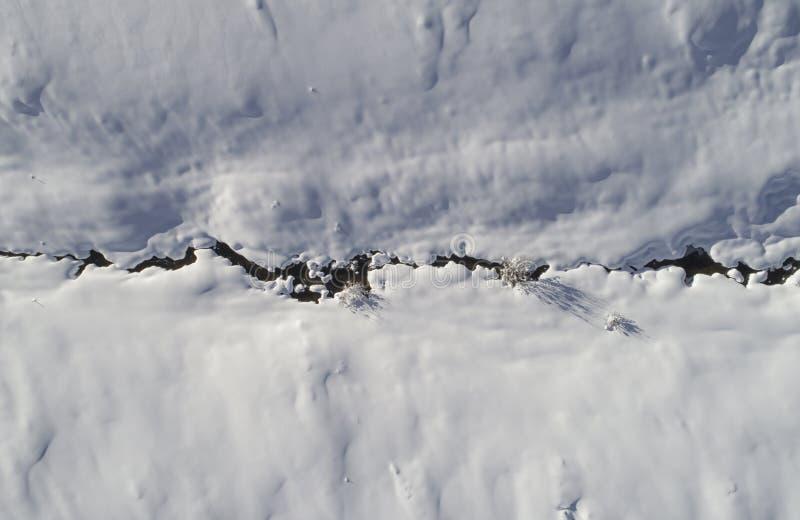 Śnieżna zatoczka obrazy royalty free