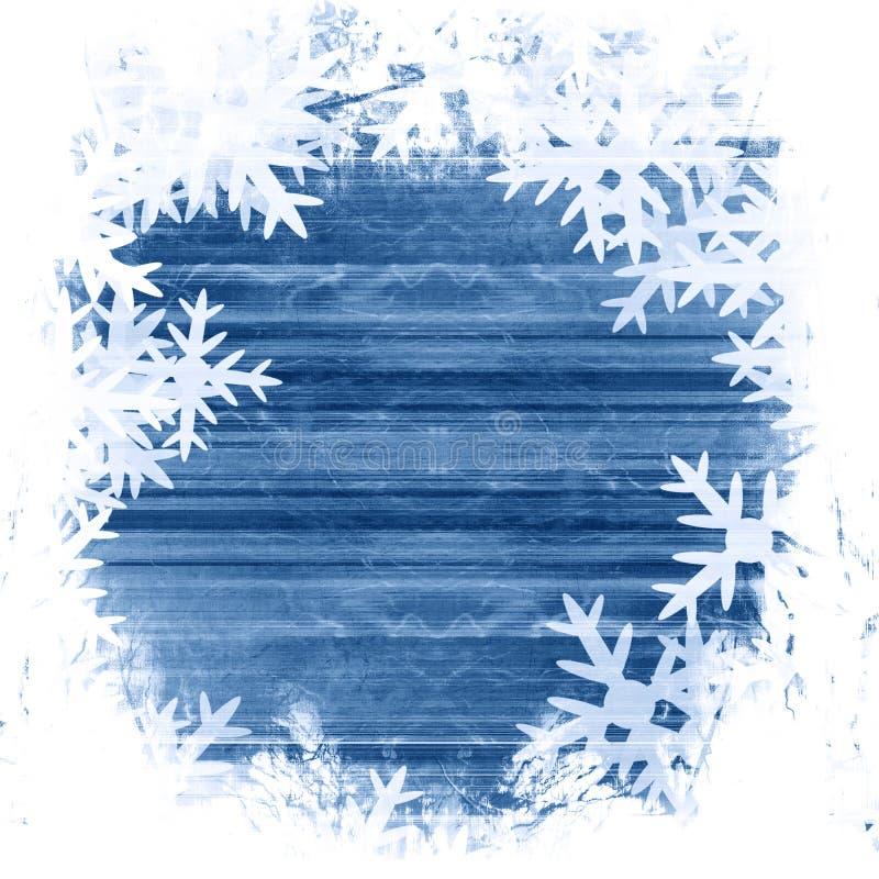 Śnieżni płatki royalty ilustracja