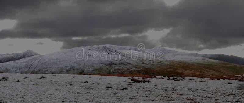 Śnieżni szczyty zdjęcie royalty free