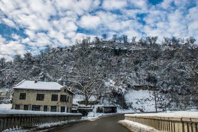 śnieżny obraz stock