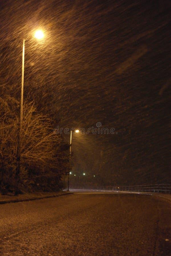 Śnieżny Ateny obraz royalty free