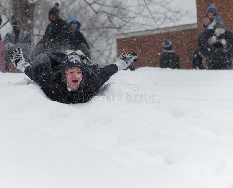 Śnieżny dzień obrazy stock