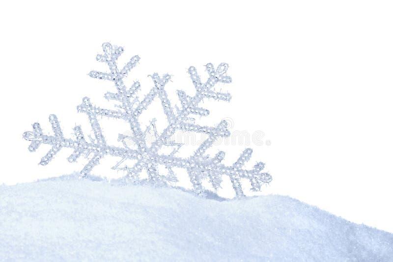 Śnieżny kryształ obrazy royalty free