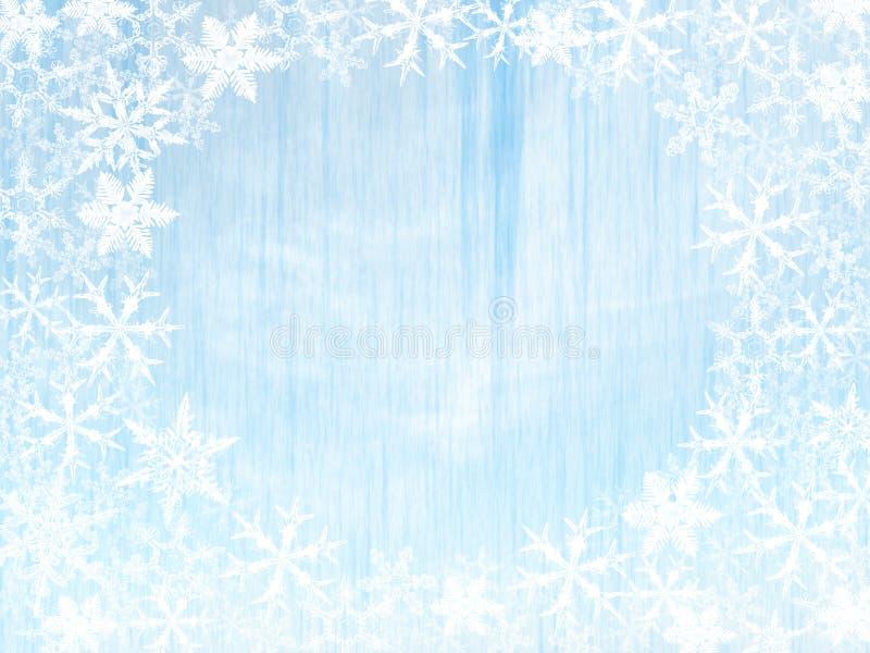 Śnieżny kryształ ilustracji