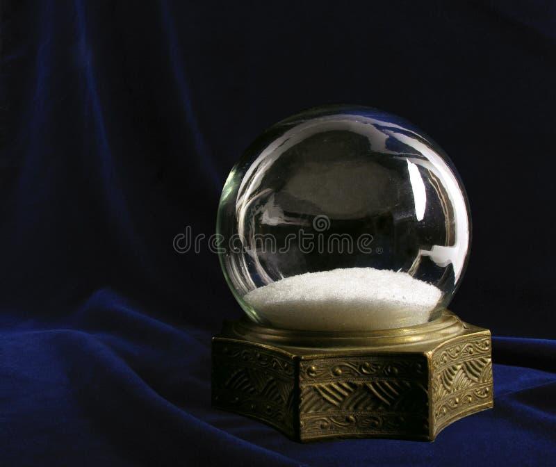 śnieżny kula ziemska rocznik zdjęcie royalty free
