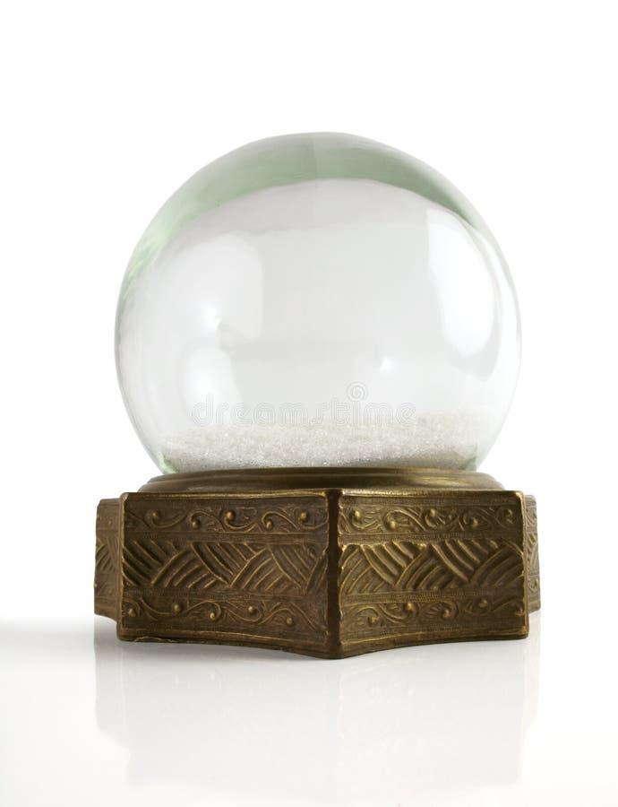 śnieżny kula ziemska rocznik zdjęcie stock