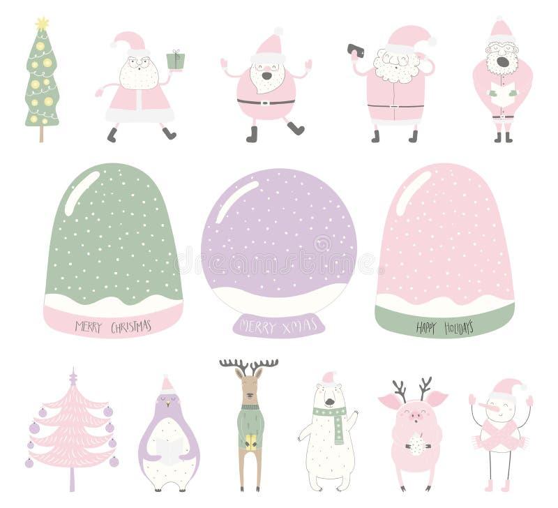Śnieżny kula ziemska twórca royalty ilustracja