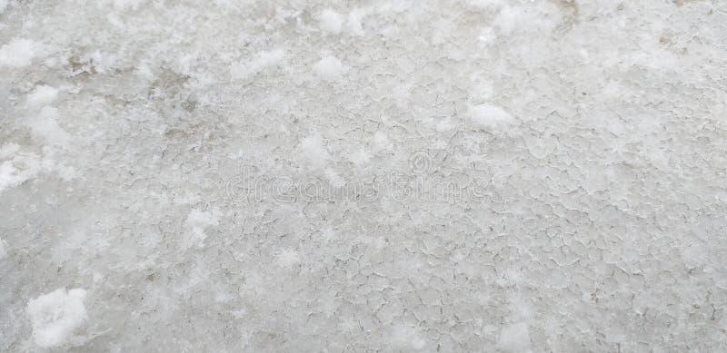 śnieżny lód fotografia royalty free