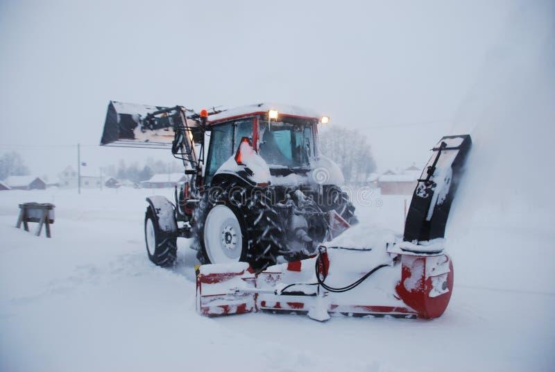 śnieżny miotacz obrazy stock