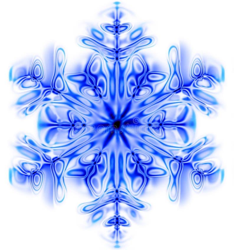 Śnieżny płatek ilustracji