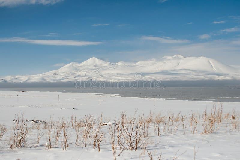 Śnieżny pustkowie zdjęcia stock
