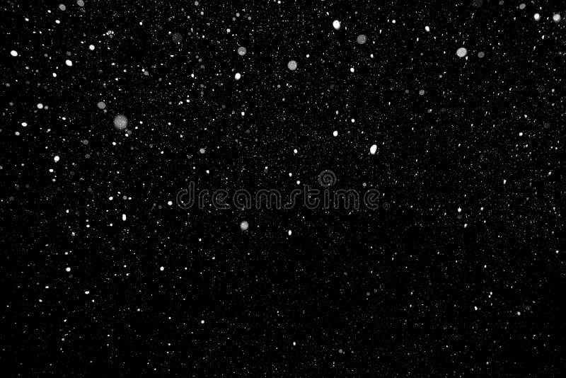 Śnieżny Spada tło zdjęcie stock