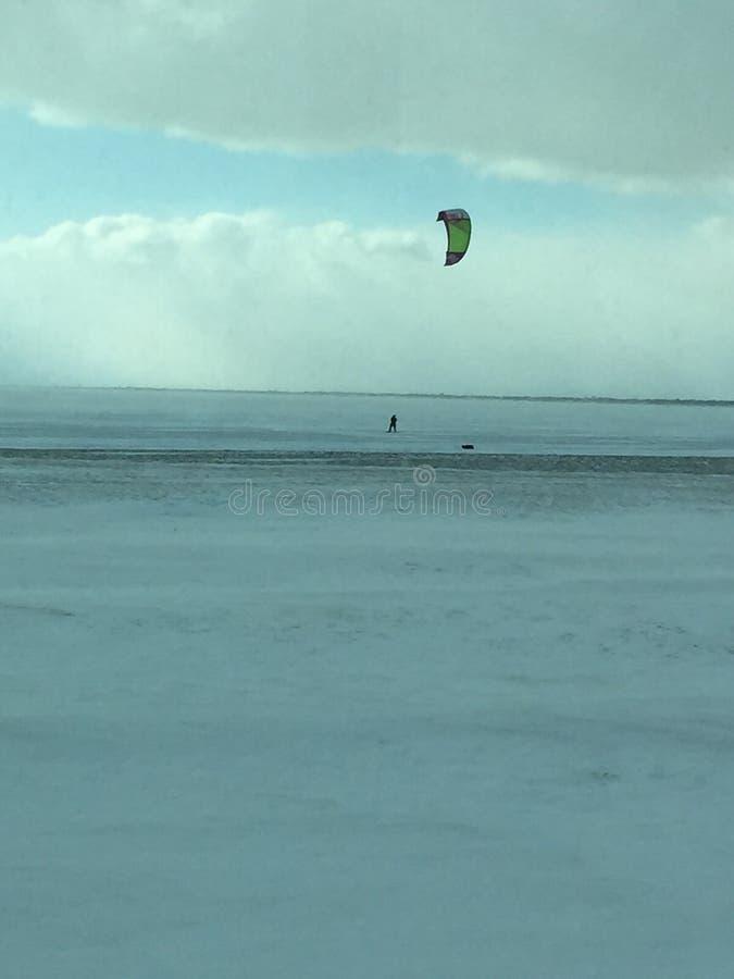 Śnieżny surfing zdjęcie royalty free