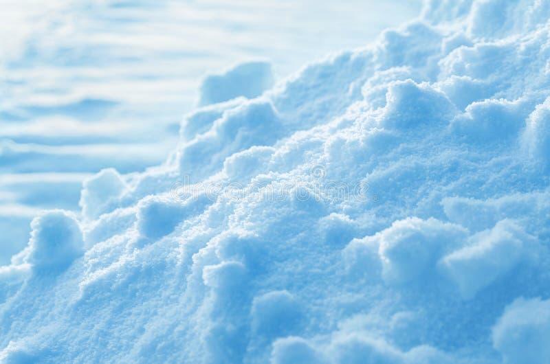 Śnieżny tło obraz royalty free