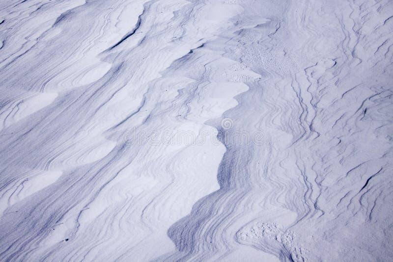 Śniegów dryfy zdjęcie royalty free