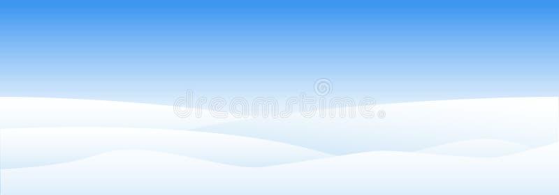 Śniegów dryfy Płatek śniegu w różnych kształtach i formach Niebo chmury i śnieżna zima Mroźny w górę mroźnych płatek śniegu - wek ilustracja wektor