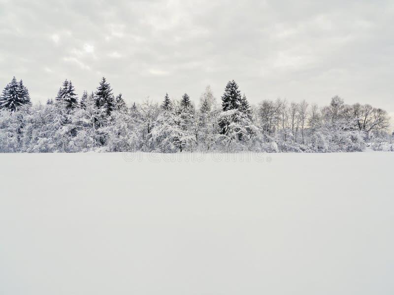 Śnieg krajobrazowa zima obraz stock