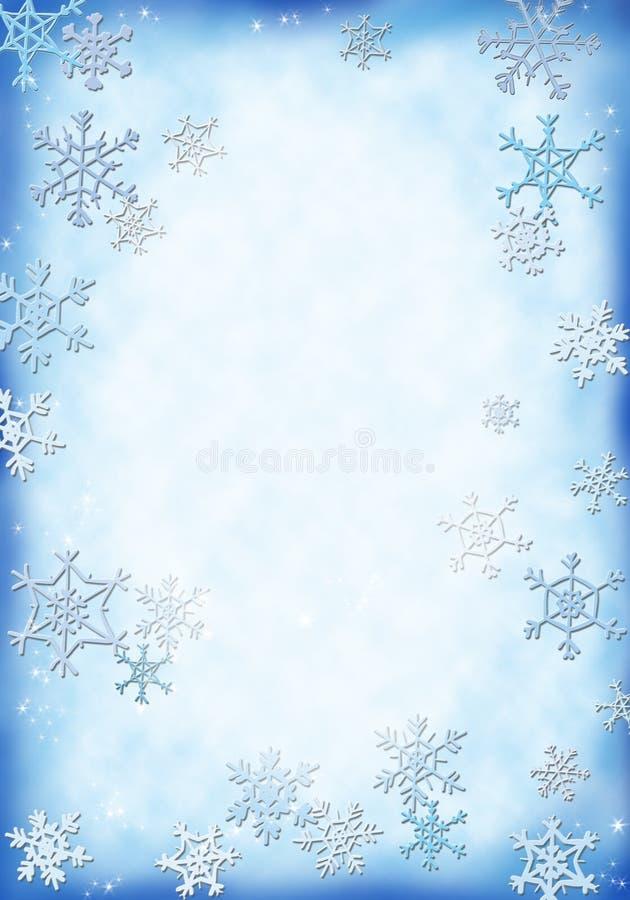 śnieg tło ilustracji