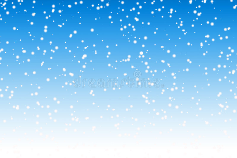śnieg tło royalty ilustracja