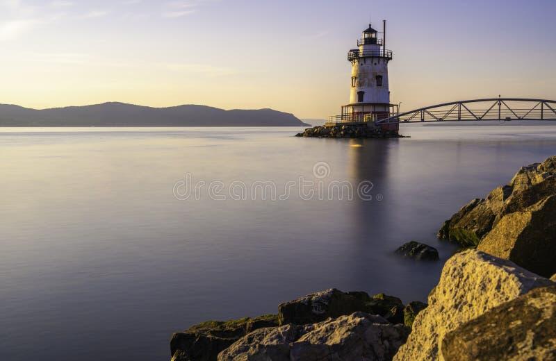 Śpiący Święci latarnię morską zdjęcia royalty free