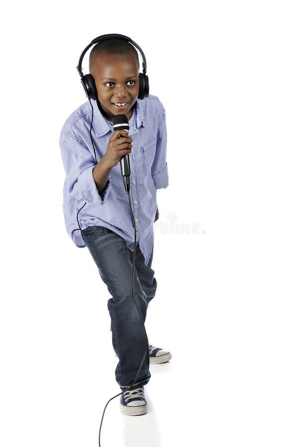 Śpiewać DJ obrazy royalty free