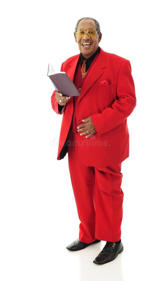 Śpiewacki senior zdjęcie stock