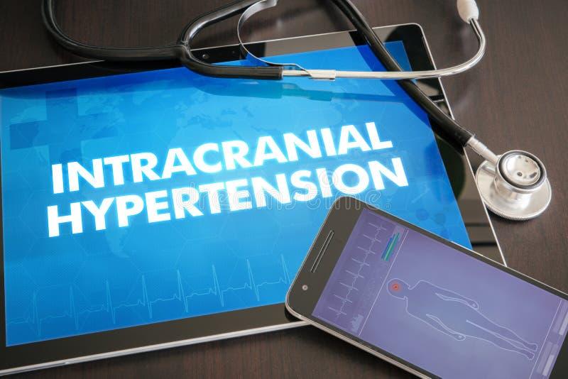 Śródczaszkowa nadciśnienie diagnoza (neurologiczny nieład) zdjęcie stock