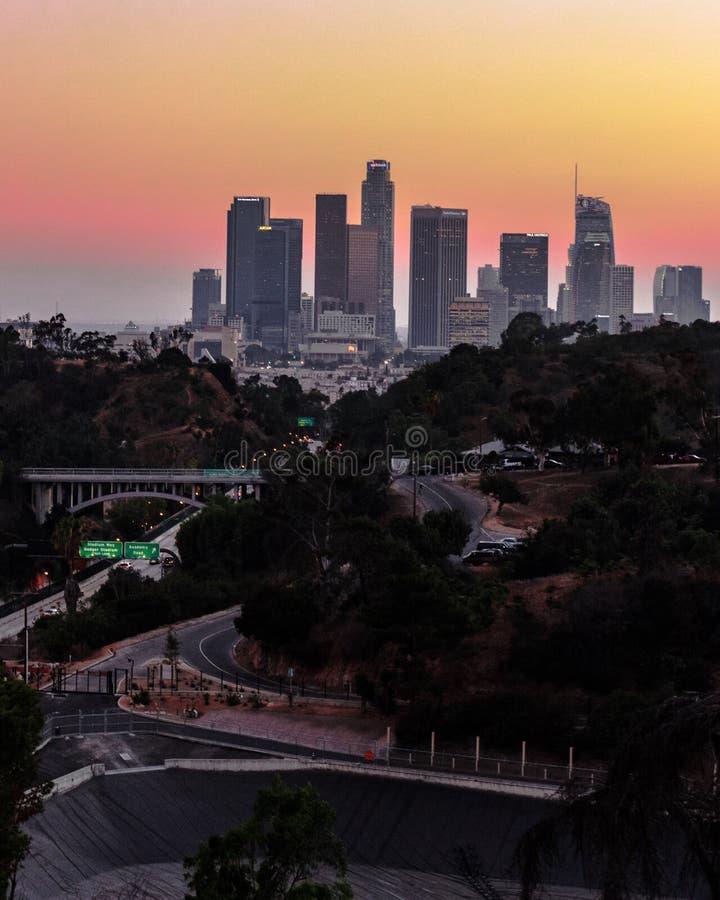 Śródmieścia Los à  ngeles obrazy stock