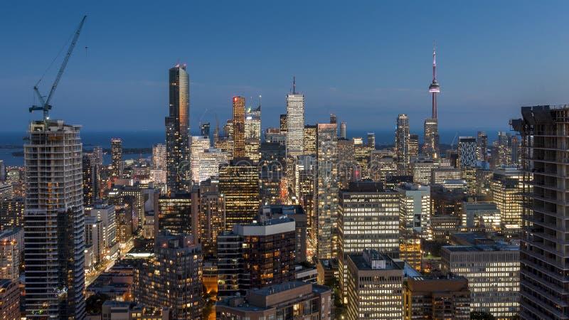 Śródmieście Toronto fotografia royalty free