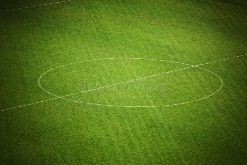 śródpolna piłka nożna obraz stock