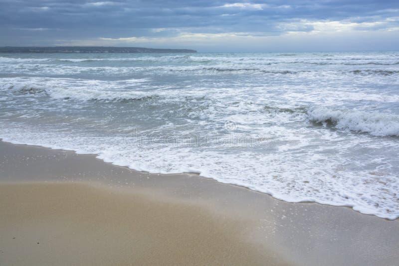 Śródziemnomorscy błękity w jesieni fotografia stock