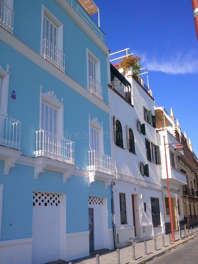 Śródziemnomorscy balkony fotografia stock