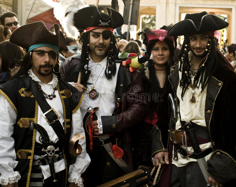 śródziemnomorscy piraci zdjęcie stock