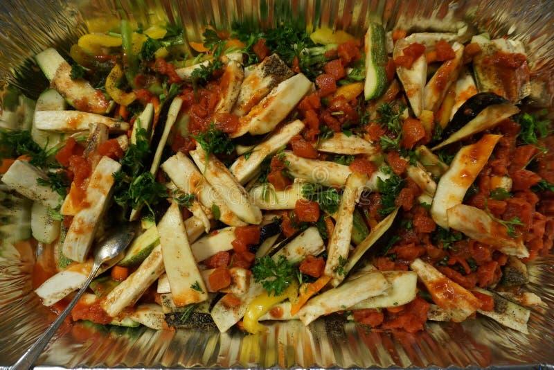Śródziemnomorska kuchnia (GRECJA) obraz royalty free